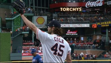 Photo of Cole llega a 300 K y Astros amarran pase a playoffs
