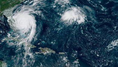 Photo of Dorian baja a categoría 2 frente a costa de Florida