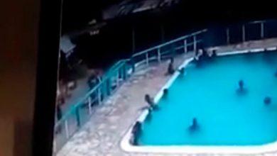 Photo of Hombre ahoga a una joven en una piscina en Santo Domingo Oeste