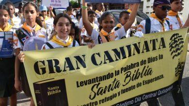 Photo of Iglesia Adventista en el Ensanche Quisqueya realiza caminata por mes de la Biblia