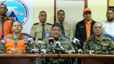 Photo of El COE mantiene 16 provincias en alerta amarilla y verde ante posibles inundaciones