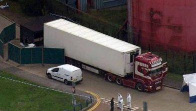 Photo of La policía halla 39 cadáveres en un camión en Inglaterra