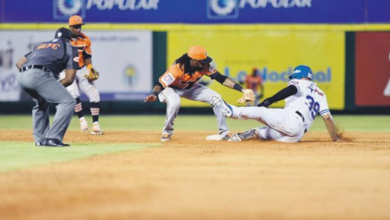 Photo of Nick Heath decide con un sacrificio victoria del Licey