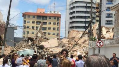 Photo of Se derrumba un edificio residencial de siete pisos en Brasil