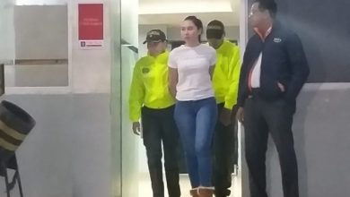 Photo of Capturan a hija de excongresista colombiana que se fugó de prisión