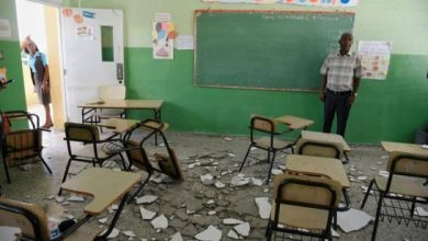 Photo of Cinco niñas heridas al caerles empañete del techo de la escuela en Sabana Perdida