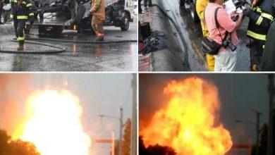Photo of Vehículo se incendia en la avenida Máximo Gómez