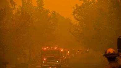 Photo of Alerta roja «extrema» en California por fuertes vientos que avivan los incendios