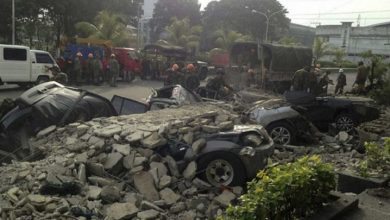 Photo of Al menos 5 muertos y 70 heridos por un seísmo de magnitud 6,6 en el sur de Filipinas