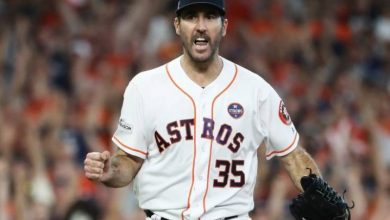 Photo of Verlander, primer pitcher con marca de 0-5 en SM