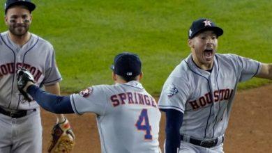 Photo of Astros a un triunfo del título tras barrer en D.C.