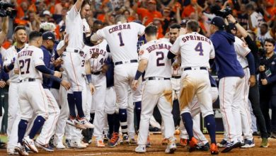 Photo of Astros empatan SCLA con HR de Correa en la 11ma
