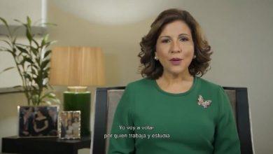 Photo of Margarita Cedeño: «El 6 de octubre votaré por él, por mi esposo»