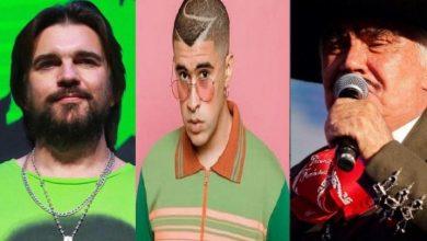 Photo of Bad Bunny, Juanes y Vicente Fernández entre artistas que actuarán en los Latin Grammy