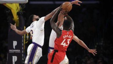 Photo of Raptors derrotan a Lakers, cortan su racha de 7 victorias