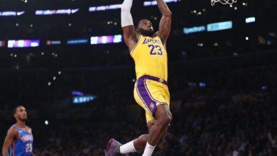 Photo of LeBron fija récord de triple-doble en triunfo de los Lakers