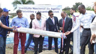 Photo of Director de INAPA encabeza acto de colocación primer tubo en San Cristóbal