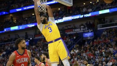 Photo of Anthony Davis con 41 puntos lidera a Lakers ante Pelicans