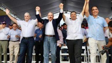 Photo of Danilo y Gonzalo abren la campaña municipal del PLD con concentración en La Vega
