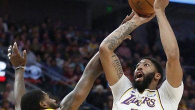 Photo of Otra vez LeBron y Davis comandan ofensiva de los Lakers