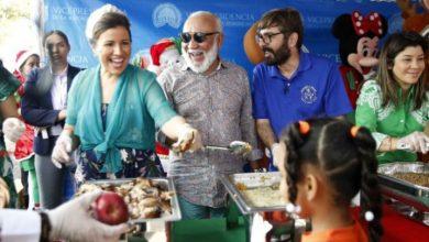 Photo of Vicepresidenta celebra la Navidad junto a niños en situación de calle