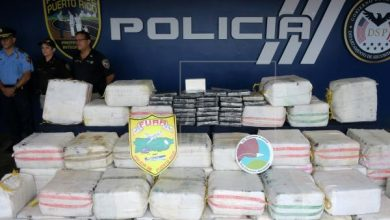 Photo of Incautan casi 182 kilos de cocaína y arrestan a cinco dominicanos en Puerto Rico