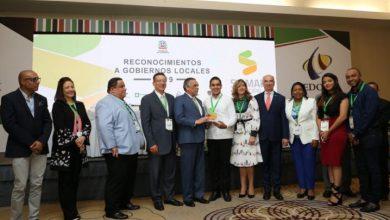 Photo of MAP entrega reconocimiento a la alcaldía de Villa Tapia