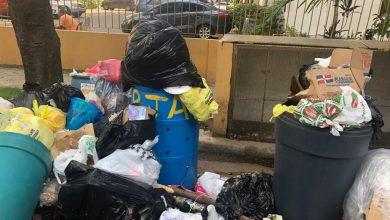 Photo of Gazcue ahogada en basura, ante la indiferencia de la alcaldía del Distrito Nacional