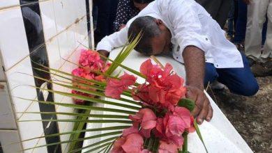 Photo of Yanesy fue sepultada entre el llanto y dolor de familiares