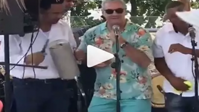 Photo of Gonzalo Castillo aparece bailando y cantando a ritmo de merengue