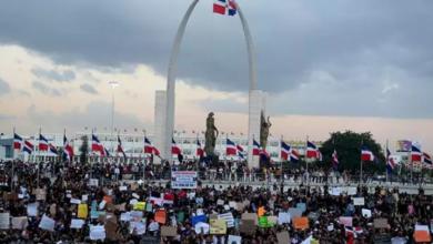 Photo of Manifestación en Plaza de la Bandera llega a su noveno día