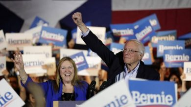 Photo of Bernie Sanders gana asamblea partidista demócrata en Nevada