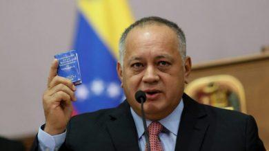 Photo of Diosdado Cabello dice que tío de Guaidó fue detenido por trasladar explosivos en avión