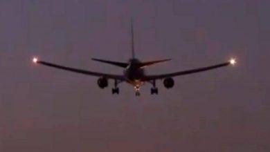 Photo of Aterriza avión en Barajas, España, tras casi cinco horas de maniobra para quemar combustibles
