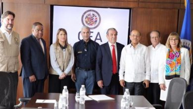 Photo of Gonzalo Castillo se reúne con Misión OEA