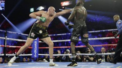Photo of Por coronavirus, posponen la tercera pelea entre Fury y Wilder