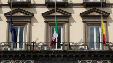 Photo of Italia pone sus banderas a media asta en señal de duelo ante la pandemia
