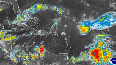 Photo of Vaguada provocará aguaceros y tormentas eléctricas; oleaje peligroso