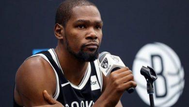 Photo of Kevin Durant, uno de los cuatro positivos de los Brooklyn Nets