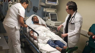 Photo of Zion está interno en un hospital en México