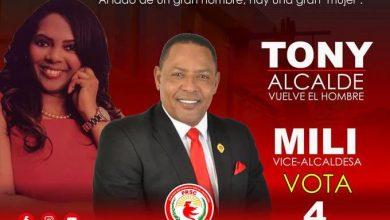 Photo of Tony Adames y su esposa serán alcalde y vicealcaldesa de La Romana