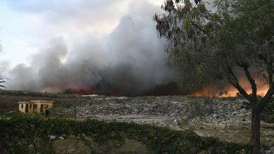Photo of Fuego devasta parte del vertedero de Duquesa
