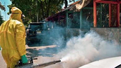 Photo of Ayuntamiento DN inicia fumigación en mercado de Los Guandules por COVID-19