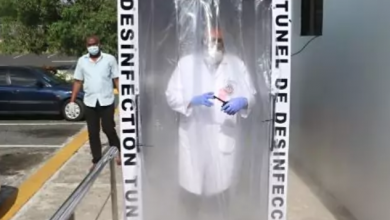 Photo of Ministerio de Defensa instala cabina de desinfección ante COVID-19 en el Hospital Ramón de Lara