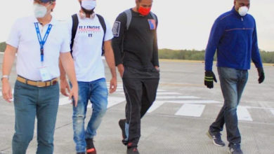 Photo of Retornaron al país los dos basquetbolistas que estaban varados en el salvador