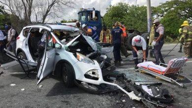 Photo of Un muerto y tres heridos en accidente de tránsito en autopista 6 de Noviembre