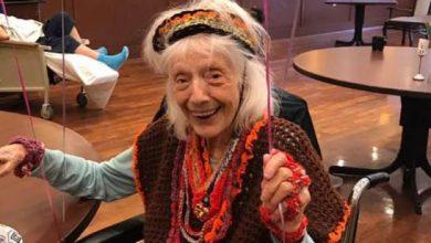Photo of Anciana de 101 años de NY sobrevive a gripe española, cáncer y ahora COVID-19