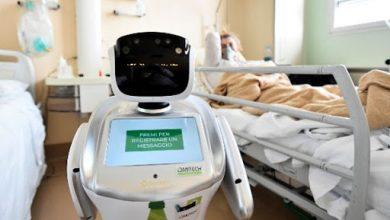 Photo of Los robots cuidan a los enfermos de coronavirus en Italia