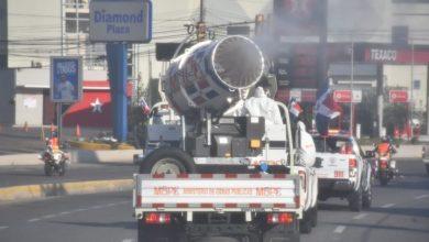 Photo of Obras Públicas continúa interviniendo diferentes sectores para combatir el COVID 19
