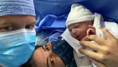 Photo of En pleno auge del COVID-19, comunicadora Marianne Cruz da la bienvenida a su hijo